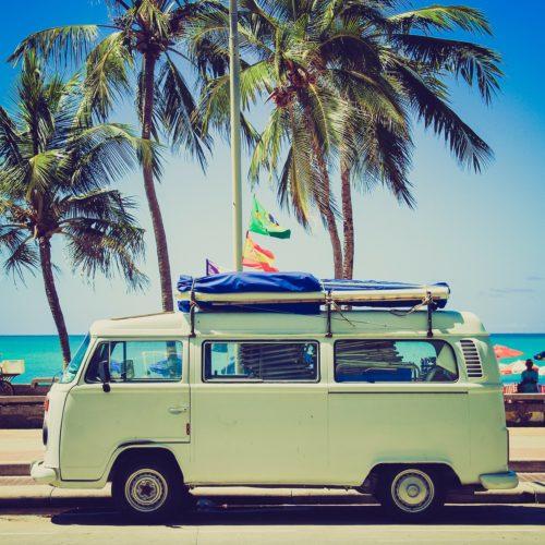 VW Camper viaggiare